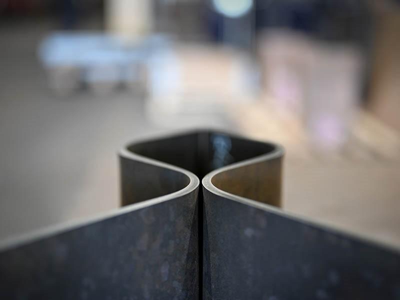kształty stali borowej